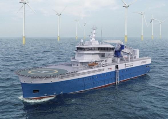 Damen Shipyards Roemenie bouwt schip voor offshore industrie