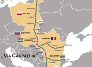 Via Carpatia ten doop gehouden
