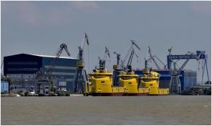Damen Shipyards Roemenie bouwt ijsbreker voor Australie