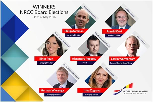 Netherlands Romanian Chamber of Commerce kiest nieuw bestuur