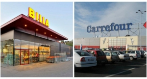 Concentratie retail bedrijven Billa en Carrefour