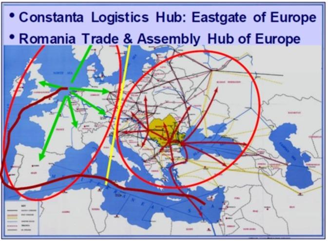 Geen relatie tussen Schengen en samenwerking Constanta en Rotterdam