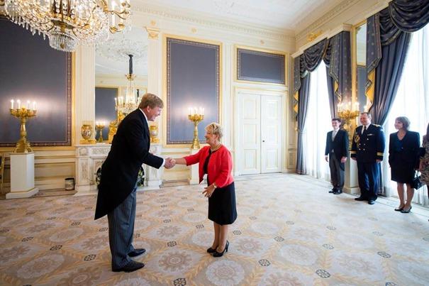 Overhandiging geloofsbrieven nieuwe ambassadeur aan de Koning