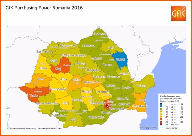 GfK Onderzoek naar koopkracht in Roemenie en EU
