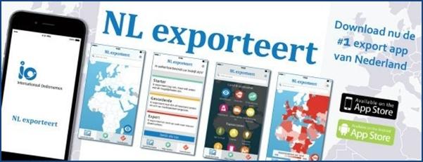 NL exporteert