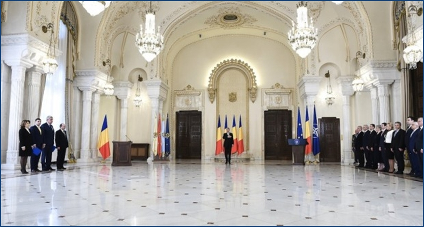 Reshuffle van de Roemeens regering
